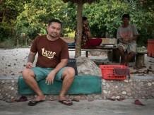 Boray, one of the head chefs