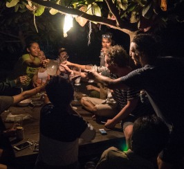 Impromptu staff party