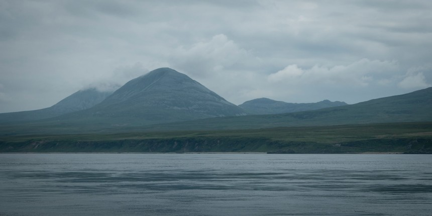 Jura, seen from Port Askaig while we were waiting for the ferry.